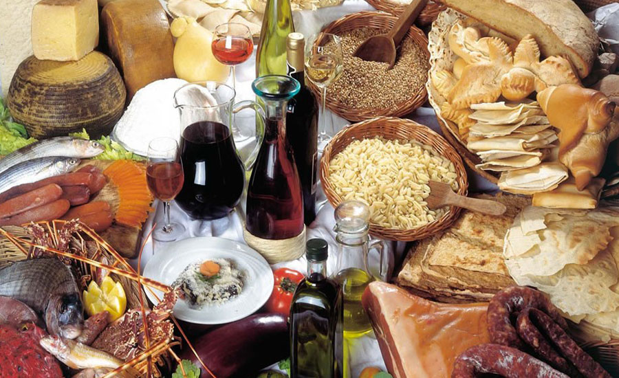 Sardinian typical products